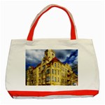 Berlin Friednau Germany Building Classic Tote Bag (Red) Front