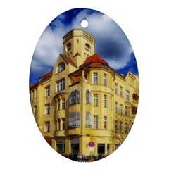 Berlin Friednau Germany Building Oval Ornament (Two Sides)