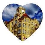 Berlin Friednau Germany Building Heart Ornament (2 Sides) Front