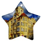 Berlin Friednau Germany Building Star Ornament (Two Sides)  Back