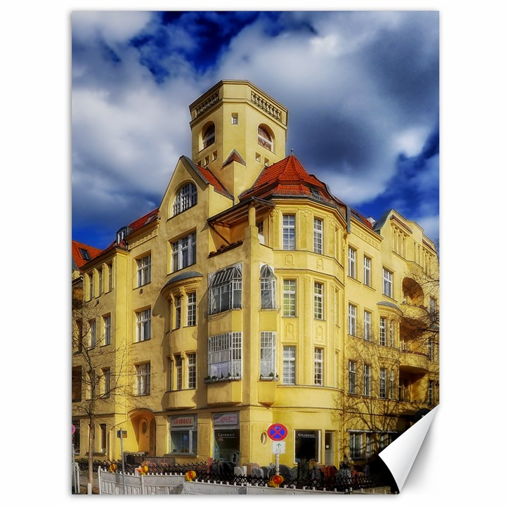 Berlin Friednau Germany Building Canvas 36  x 48