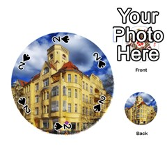 Berlin Friednau Germany Building Playing Cards 54 (Round)