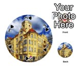 Berlin Friednau Germany Building Playing Cards 54 (Round)  Front - Spade3