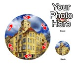 Berlin Friednau Germany Building Playing Cards 54 (Round)  Front - Heart6