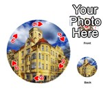 Berlin Friednau Germany Building Playing Cards 54 (Round)  Front - Heart9