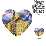 Berlin Friednau Germany Building Playing Cards 54 (Heart)  Front - Joker2
