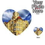 Berlin Friednau Germany Building Playing Cards 54 (Heart)  Back