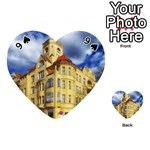 Berlin Friednau Germany Building Playing Cards 54 (Heart)  Front - Spade9