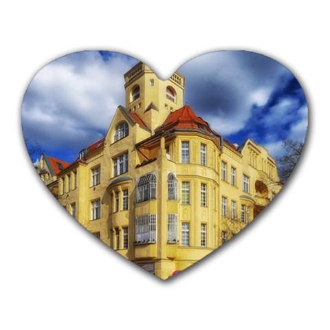 Berlin Friednau Germany Building Heart Mousepads