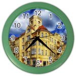 Berlin Friednau Germany Building Color Wall Clocks Front
