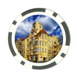 Berlin Friednau Germany Building Poker Chip Card Guards Front