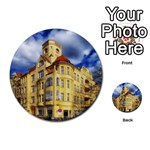 Berlin Friednau Germany Building Multi-purpose Cards (Round)  Front 6