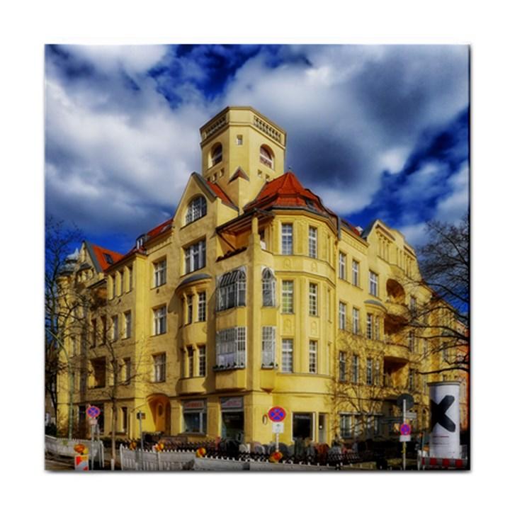 Berlin Friednau Germany Building Face Towel