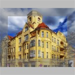 Berlin Friednau Germany Building Mini Canvas 7  x 5  7  x 5  x 0.875  Stretched Canvas