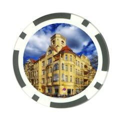 Berlin Friednau Germany Building Poker Chip Card Guards (10 pack)