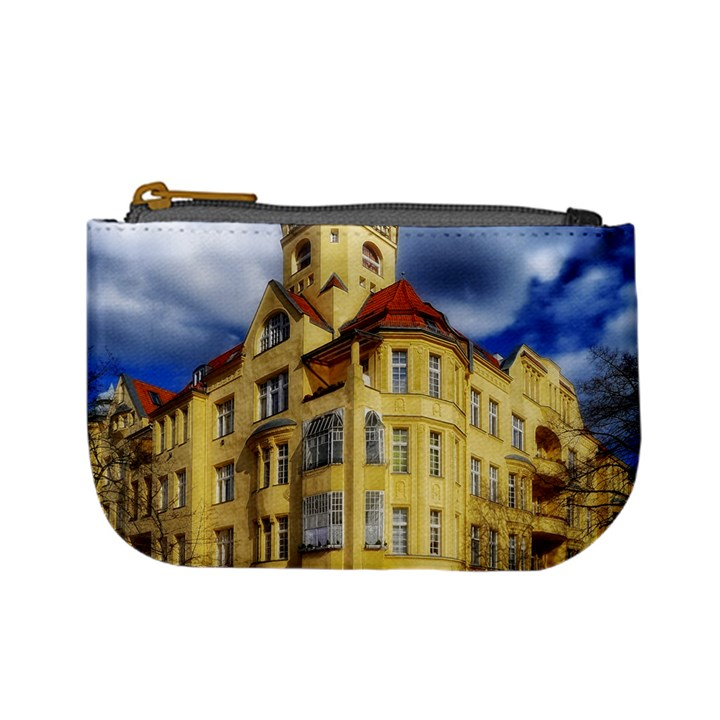 Berlin Friednau Germany Building Mini Coin Purses