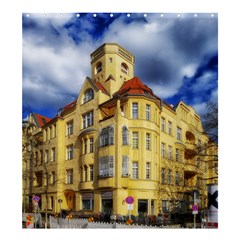 Berlin Friednau Germany Building Shower Curtain 66  x 72  (Large)