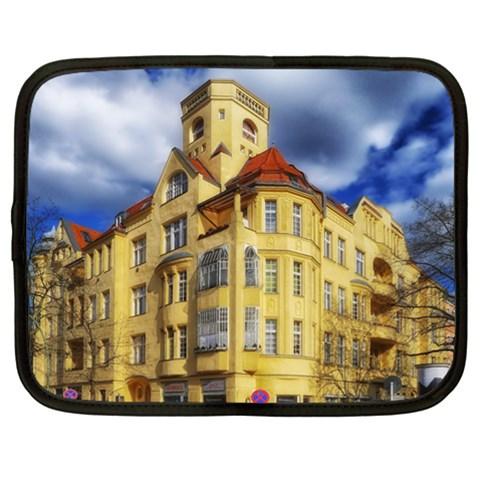Berlin Friednau Germany Building Netbook Case (XL)