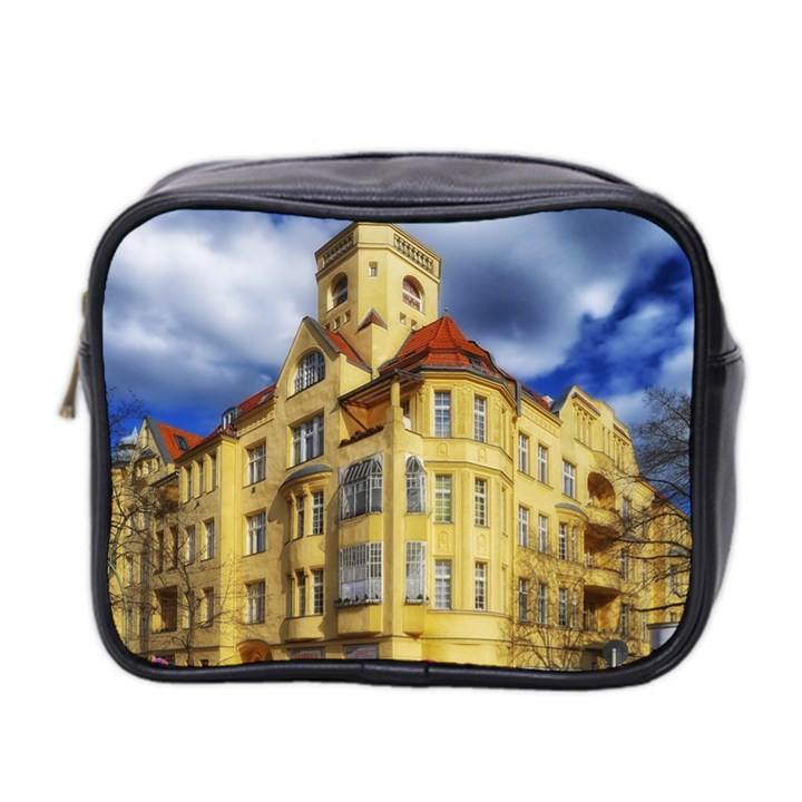 Berlin Friednau Germany Building Mini Toiletries Bag 2-Side