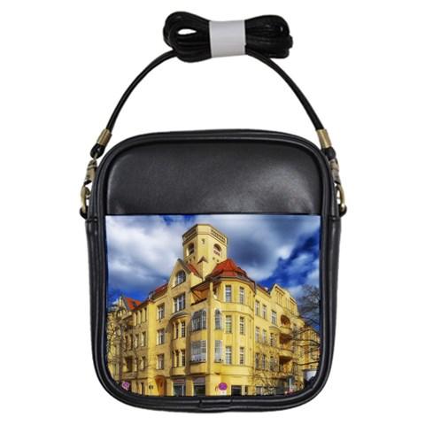 Berlin Friednau Germany Building Girls Sling Bags
