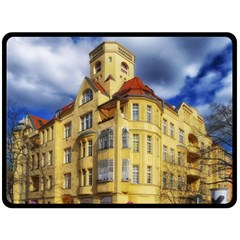 Berlin Friednau Germany Building Fleece Blanket (Large)