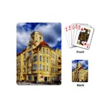 Berlin Friednau Germany Building Playing Cards (Mini)  Back