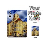 Berlin Friednau Germany Building Playing Cards 54 (Mini)  Front - Spade5