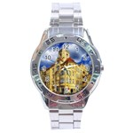 Berlin Friednau Germany Building Stainless Steel Analogue Watch Front
