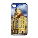 Berlin Friednau Germany Building Apple iPhone 4 Case (Black) Front