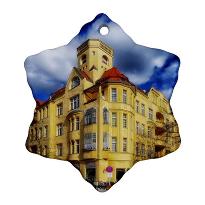Berlin Friednau Germany Building Ornament (Snowflake)