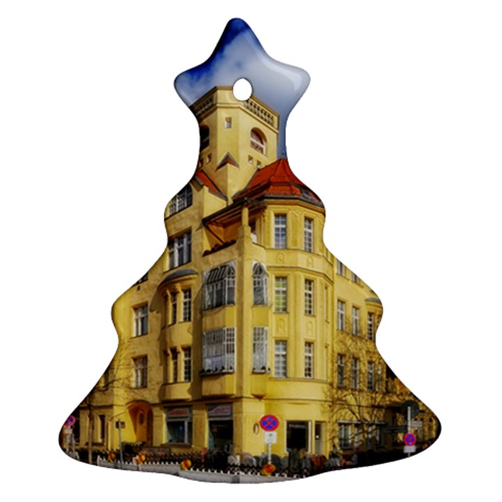 Berlin Friednau Germany Building Ornament (Christmas Tree)