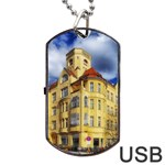 Berlin Friednau Germany Building Dog Tag USB Flash (Two Sides)  Back