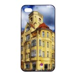 Berlin Friednau Germany Building Apple iPhone 4/4s Seamless Case (Black) Front
