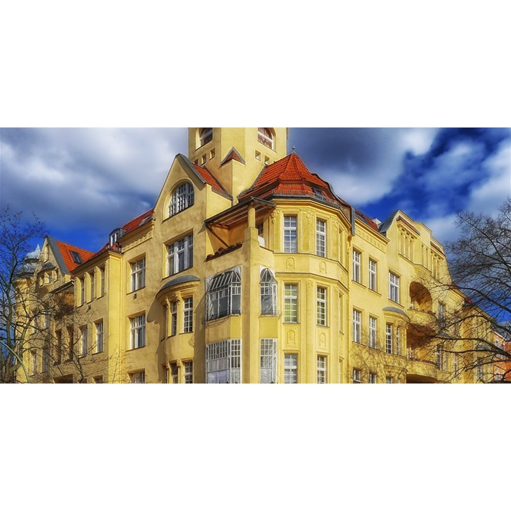 Berlin Friednau Germany Building YOU ARE INVITED 3D Greeting Card (8x4)