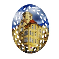 Berlin Friednau Germany Building Ornament (Oval Filigree)