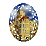 Berlin Friednau Germany Building Ornament (Oval Filigree)  Front
