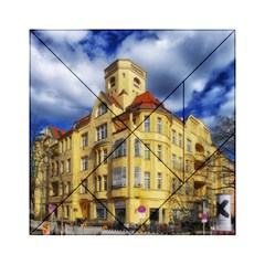 Berlin Friednau Germany Building Acrylic Tangram Puzzle (6  x 6 )