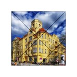 Berlin Friednau Germany Building Acrylic Tangram Puzzle (4  x 4 ) Front