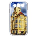 Berlin Friednau Germany Building Samsung Galaxy S III Case (White) Front
