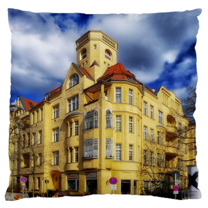 Berlin Friednau Germany Building Large Cushion Case (Two Sides)