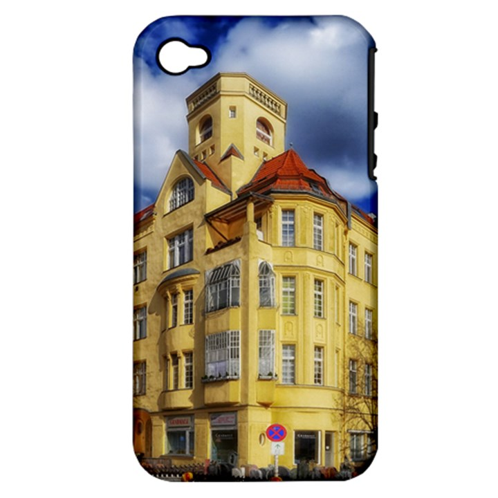 Berlin Friednau Germany Building Apple iPhone 4/4S Hardshell Case (PC+Silicone)