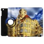Berlin Friednau Germany Building Apple iPad Mini Flip 360 Case Front