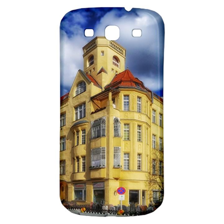 Berlin Friednau Germany Building Samsung Galaxy S3 S III Classic Hardshell Back Case