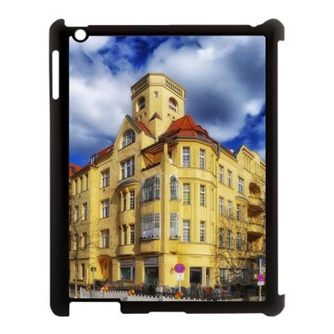 Berlin Friednau Germany Building Apple iPad 3/4 Case (Black)