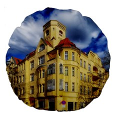 Berlin Friednau Germany Building Large 18  Premium Round Cushions