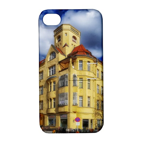 Berlin Friednau Germany Building Apple iPhone 4/4S Hardshell Case with Stand