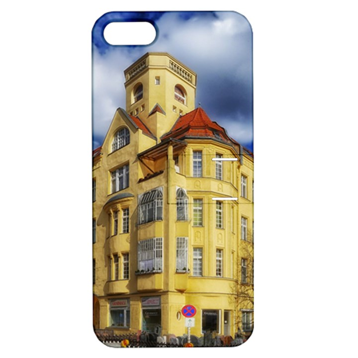 Berlin Friednau Germany Building Apple iPhone 5 Hardshell Case with Stand