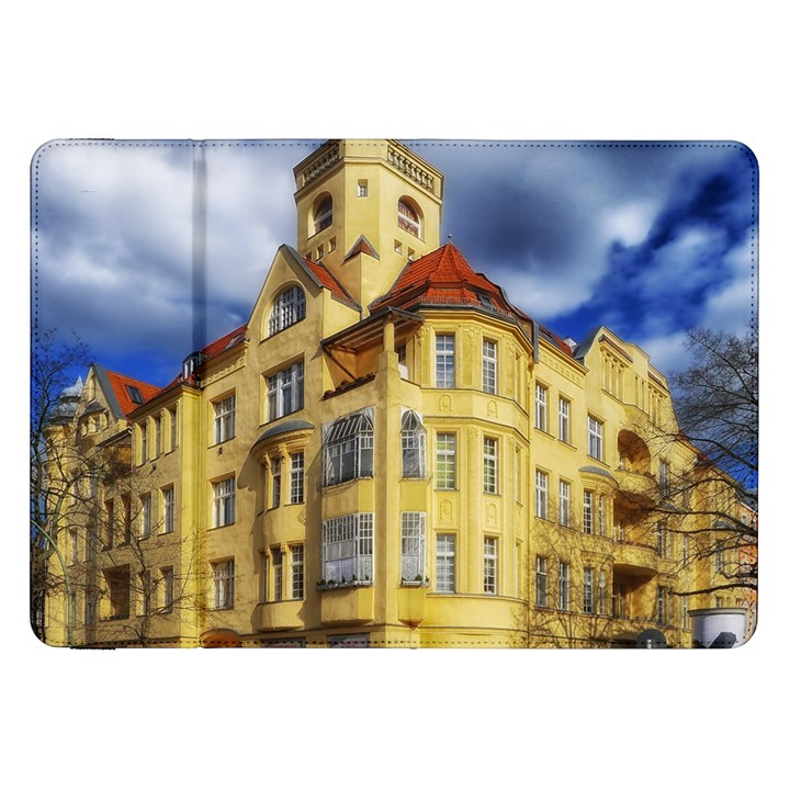 Berlin Friednau Germany Building Samsung Galaxy Tab 8.9  P7300 Flip Case
