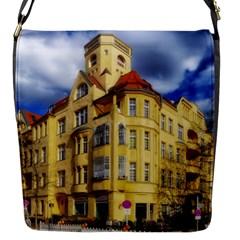 Berlin Friednau Germany Building Flap Messenger Bag (S)
