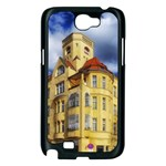 Berlin Friednau Germany Building Samsung Galaxy Note 2 Case (Black) Front